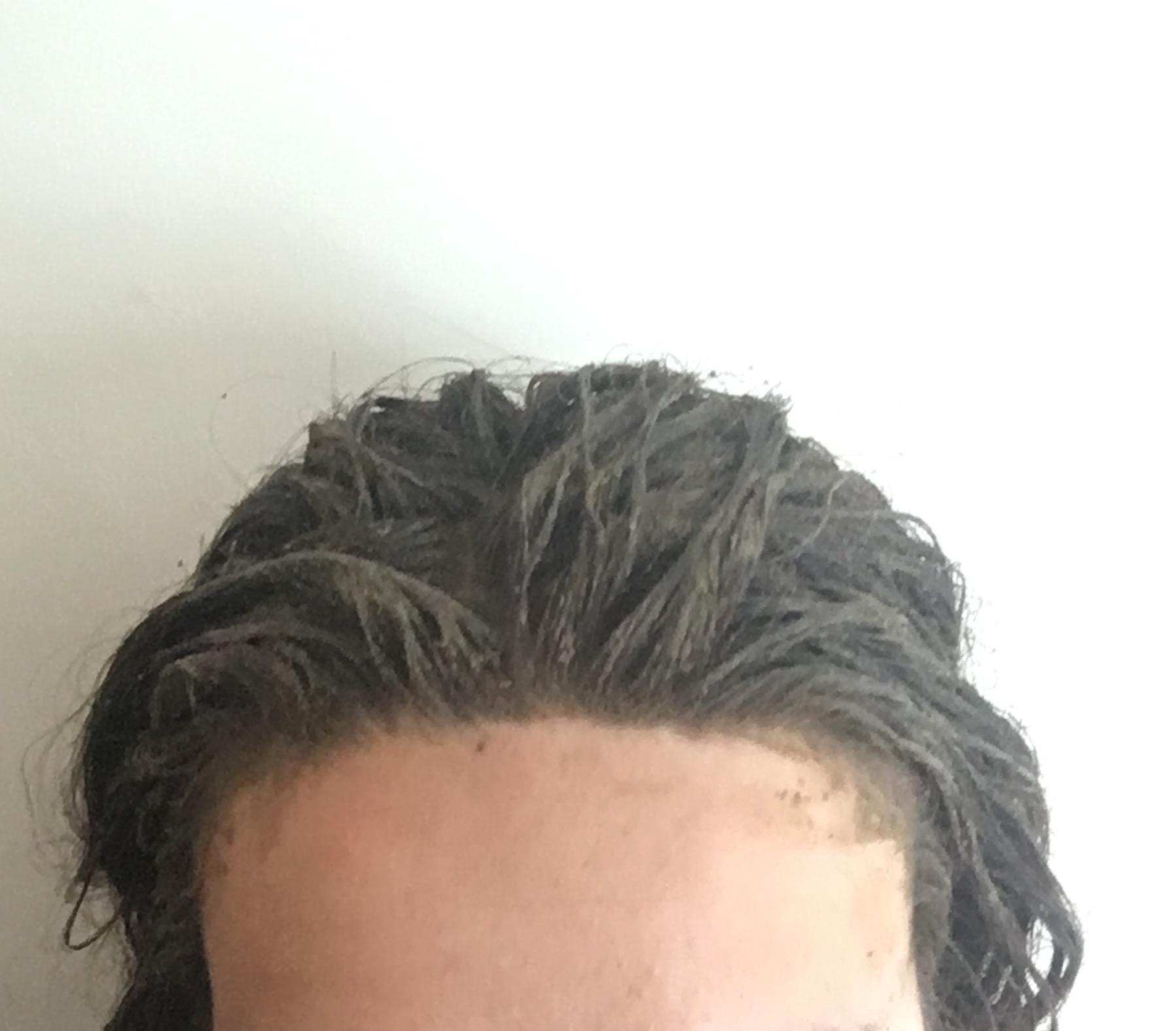 Pose 1 du masque capillaire poudre ayurvédiques