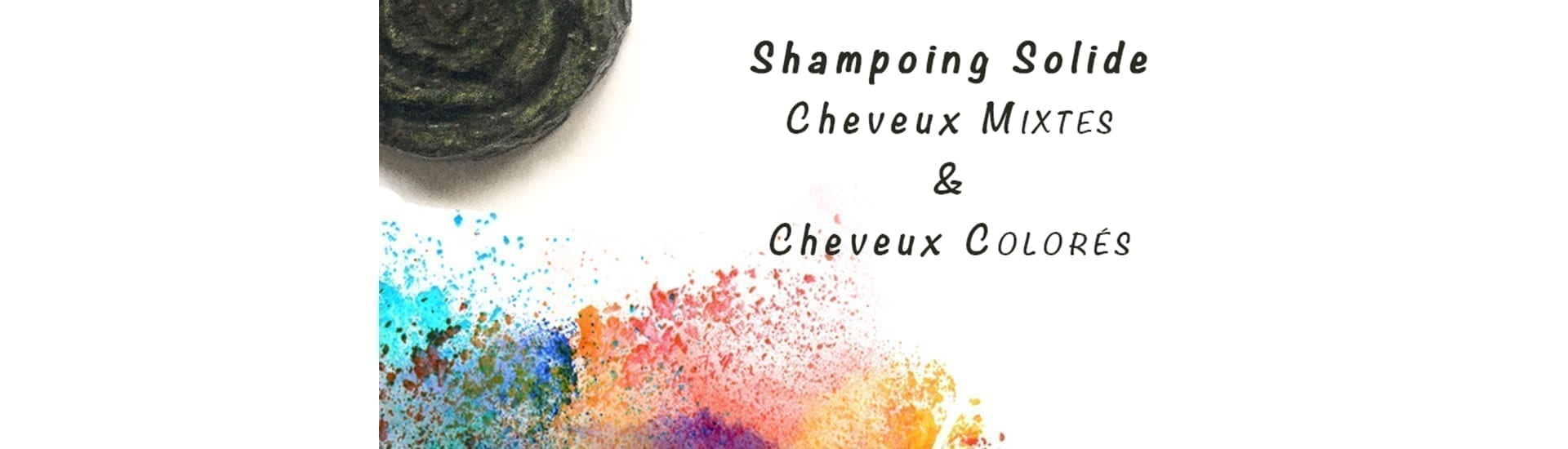 Shampoing solide cheveux colorés & mixtes