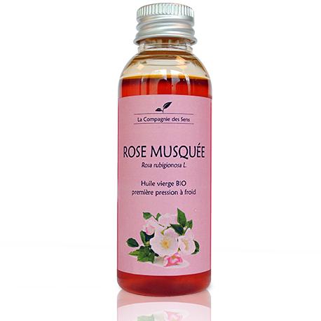 huile végétale de rose musquée bio de La Compagnie des Sens