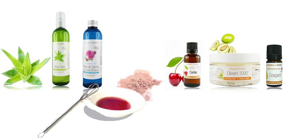 ingrédients crème peaux sensibles