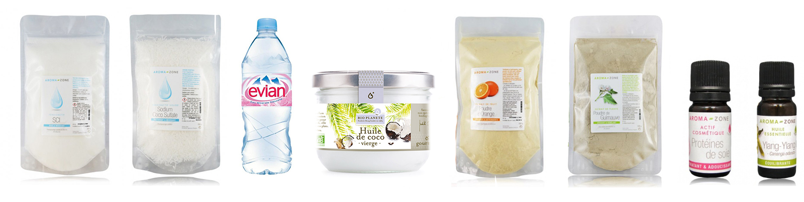 ingrédients shampoing solide cheveux secs & abimés