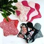 Serviettes hygiéniques lavables 2 gouttes menstruations zero dechet