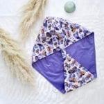 Bonnet de soin capillaire auto chauffant Papillons