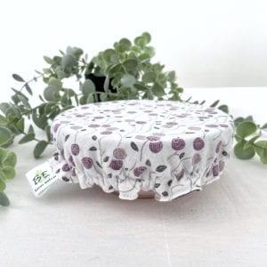 Couvre-bol Blanc Violet