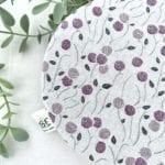Couvre-bol Blanc Violet ter
