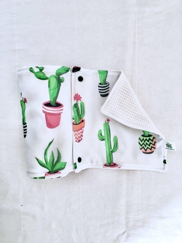 5 Essuie-tout lavables zéro déchet Cactus