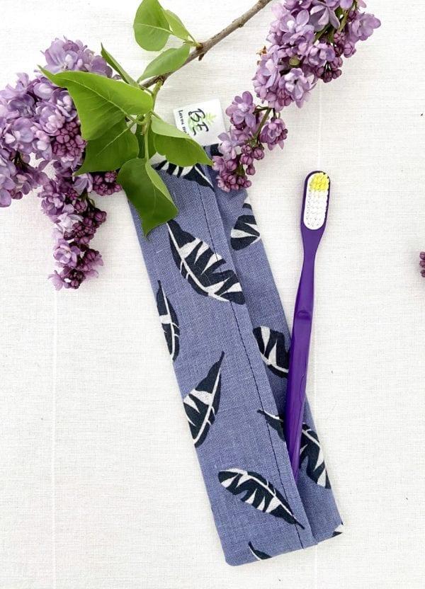 Pochette brosse à dents Plumes