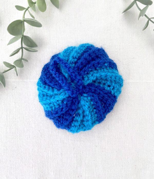 Tawashi boule Nuances bleu