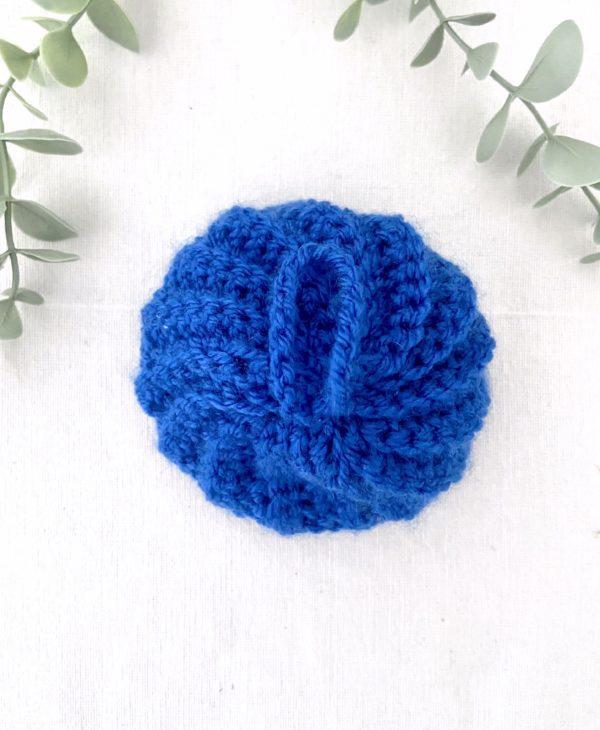 Tawashi boule bleu
