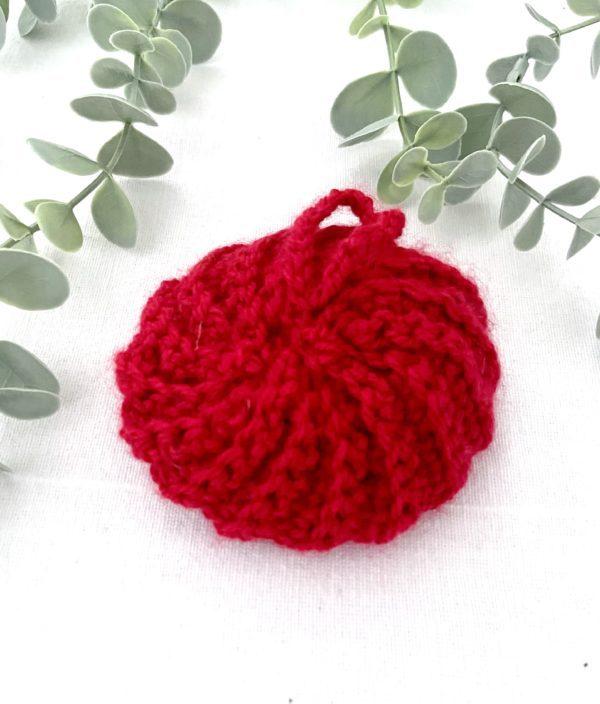 Tawashi boule rouge