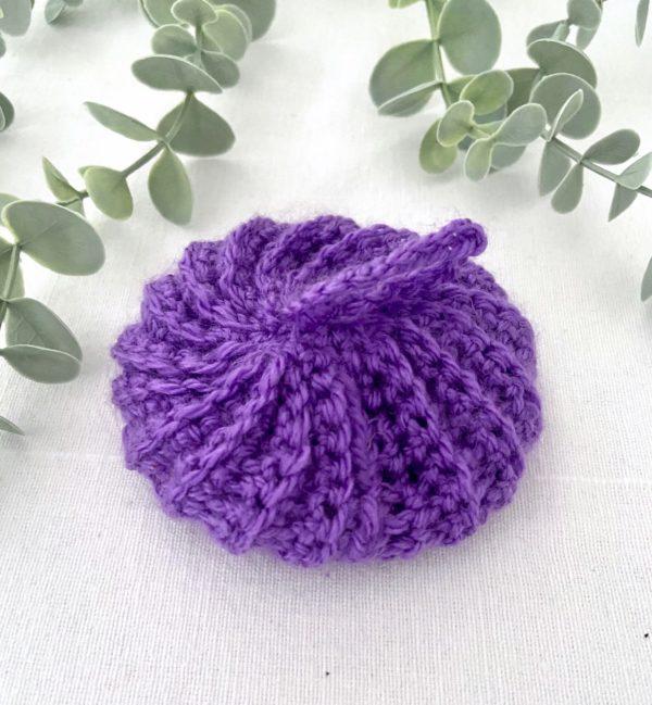 Tawashi boule violet