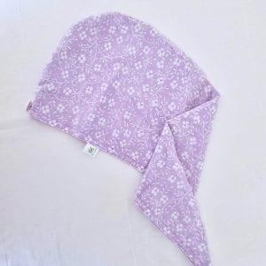 Bonnet de soin capillaire lavable et réutilisable