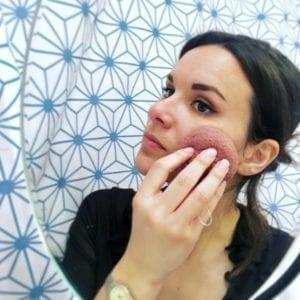 éponge Konjac soins du visage
