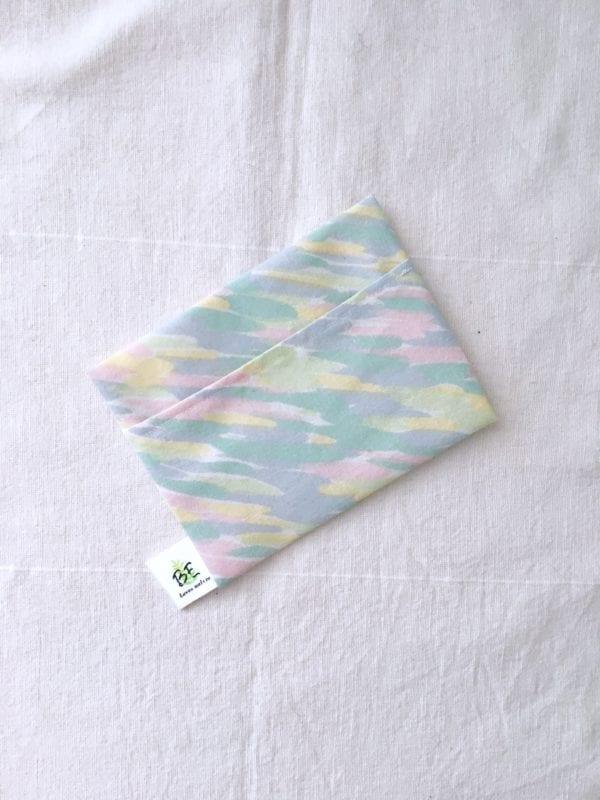 pochette savon zéro déchet portefeuille Pastel
