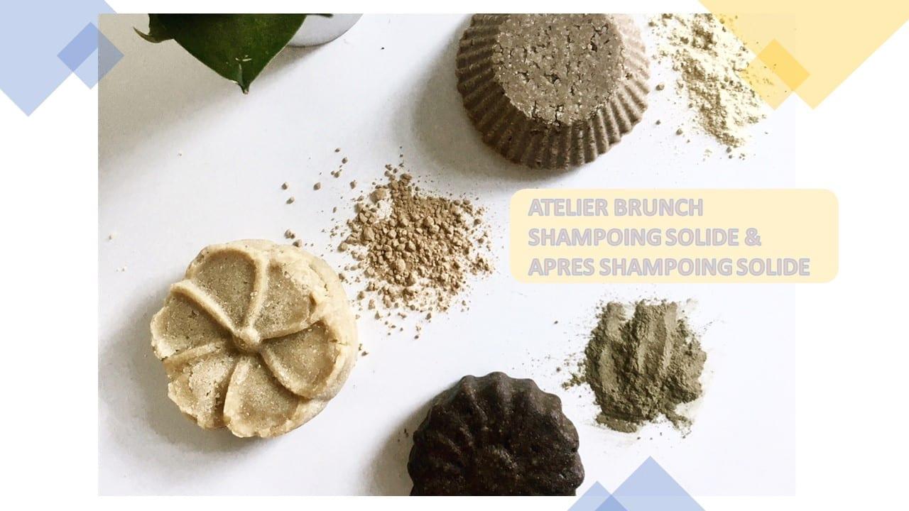 Atelier de fabrication 2 cosmétiques zéro déchet pour les soins des cheveux