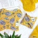 Serviette hygiénique lavable maternité intérieur bambou doux & absorbant Muerte