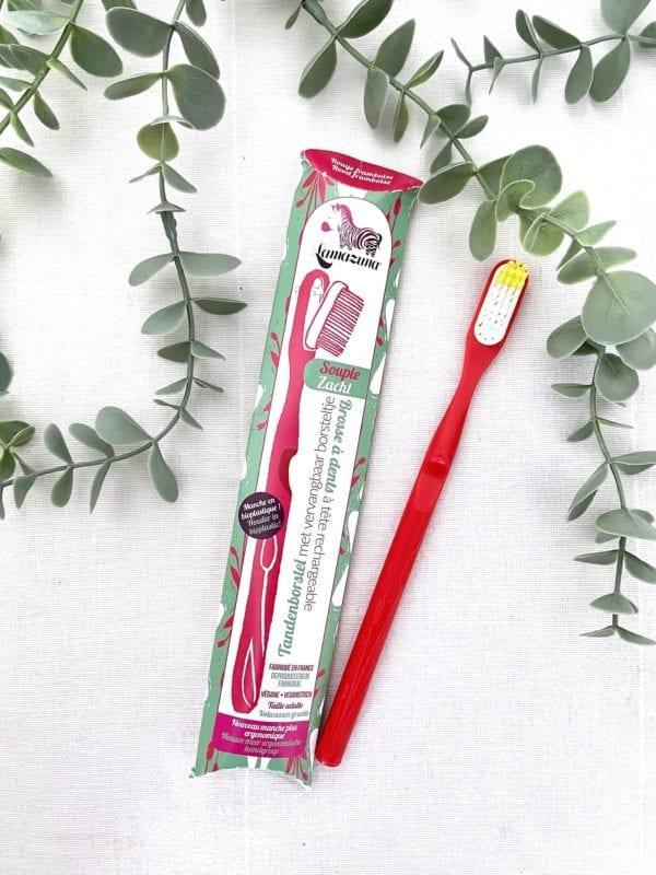 Brosse à dents écologique Rouge